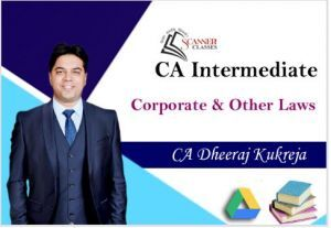 CA Intermediate Paper 2 Corporate and Other Laws (Google Drive + Printed Book)