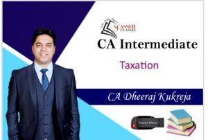 CA Intermediate Paper 4 Taxation(DT + IDT) (Pen Drive + Printed Book)