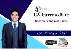CA Intermediate Paper 4 Taxation (Indirect Tax) (Pen Drive + Printed Book)