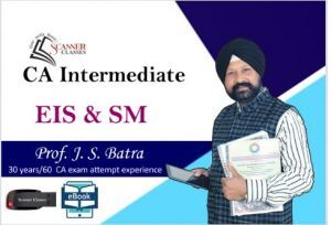 CA Intermediate Paper 7 EIS & SM(Google Drive + Printed Book)