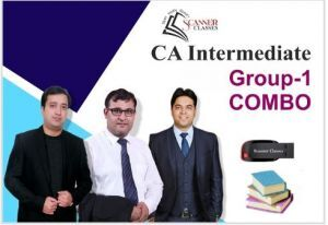 CA Intermediate Group 1 All Papers (Pen Drive + Printed Book)