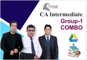 CA Intermediate Group 1 All Papers (Google Drive + Printed Book)