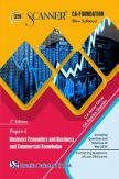 Shuchita Prakashan Scanner CA Foundation on Business Economics And Business And Commercial Knowledge (New Syllabus) Paper - 4 For Nov 2019 Exam
