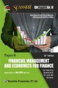 Shuchita Prakashan CA Intermediate Scanner on Financial Management And Economics For Finance (New Syllabus) Grade -II Paper - 8 For Nov 2019 Exam