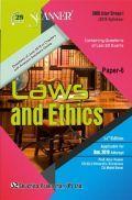 Shuchita Prakashan Scanner CMA Inter (2016 Syllabus) Group - I Paper - 6 Laws And Ethics For Dec 2019 Exam