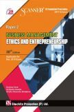 Shuchita Prakashan Scanner on Business Management Ethics and Entrepreneurship for CS Foundation Programme (2017 Syllabus) Paper-2 for Dec 2019 Exam