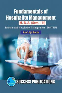 Fundamentals Of Hospitality Management