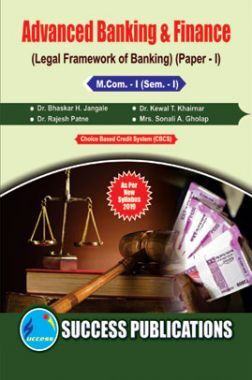 Advanced Banking & Finance (Legal Framework Of Banking)
