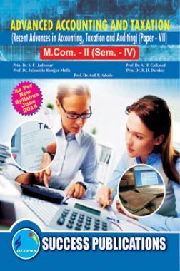 Advanced, Accounting And Taxation