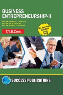 Business Entrepreneurship - II