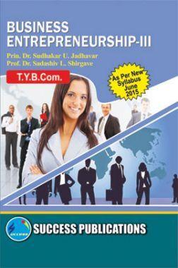 Business Entrepreneurship - III