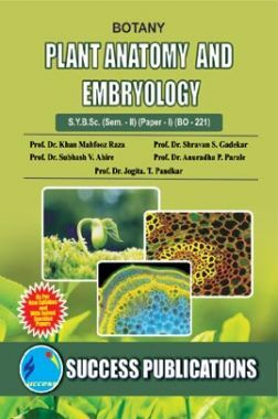 Plant Anatomy And Embryology