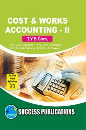 Cost And Work Accounting - II