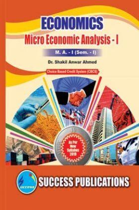 Economics Micro Economic Analysis - I