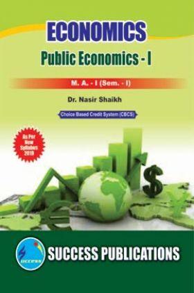 Economics Public Economics - I