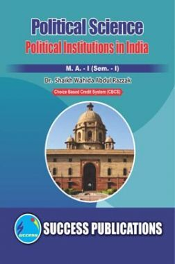 Political Science Political Institutions In India