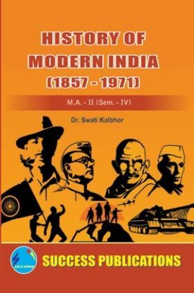 History Of Modern India (1857-1971)
