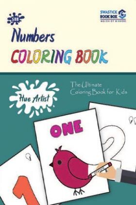 Hue Artist - Numbers Colouring Book 1-To-10