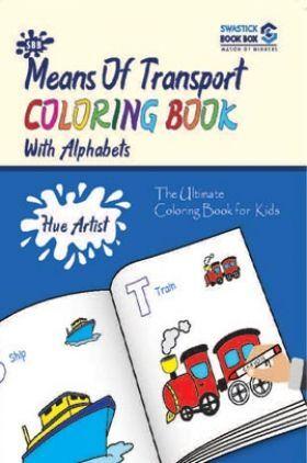 Hue Artist - Transport Colouring Book