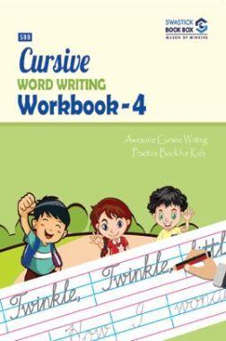 SBB Cursive Word Writing Workbook - 4