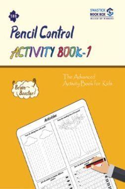 SBB Pencile Control Activity Book - 1