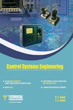 Control Systems Engineering For Anna University R-17 CBCS (III-ECE - EC8391)