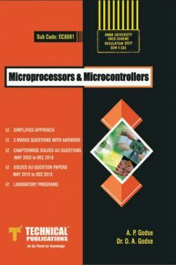 Microprocessors & Microcontrollers For Anna University R-17 CBCS (V-CSE/IT- EC8691)