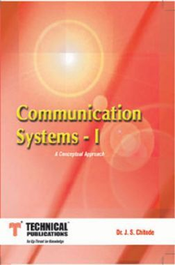 Communication Systems - I (A Conceptual Approach)