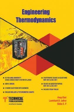 Engineering Thermodynamics For Anna University R-17 CBCS (III-Mech. - ME8391)