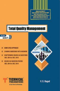 Total Quality Management For Anna University R-13 (VII-Mech. - GE6757)