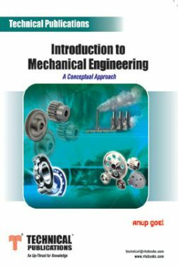 Introduction To Mechanical Engineering (A Conceptual Approach)