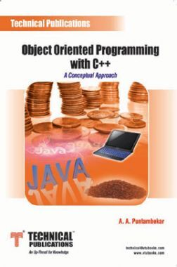 Object Oriented Programming With C++ (A Conceptual Approach)