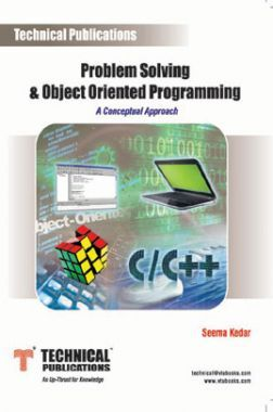 Problem Solving And Object Oriented Programming (A Conceptual Approach)