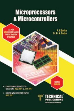 Download Microprocessors And Microcontrollers For VTU Course 17 CBCS (IV-  CSE - 17CS44) by A  P  Godse, Dr  D  A  Godse PDF Online