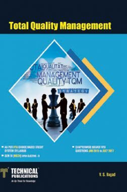 Total Quality Management ForVTU Course 15 CBCS (VI- MECH. - 15ME664)