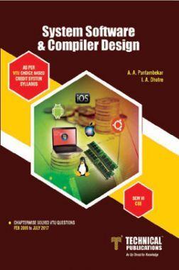 Download System Software & Compiler Design For VTU Course 15 CBCS (VI- CSE  - 15CS63) by A  A  Puntambekar, I  A  Dhotre PDF Online