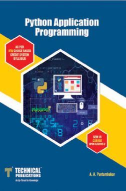 Python Application Programming  For VTU Course 15 CBCS (VI- CSE - 15CS664)