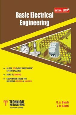 Basic Electrical Engineering  For VTU Course 18 OBE & CBCS (I-COMMON - 18ELE13)