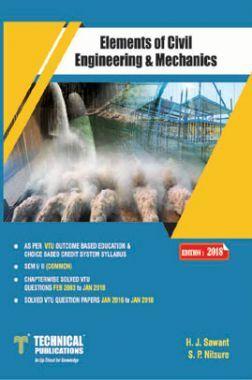 Elements Of Civil Engineering & Mechanics For VTU Course 18 OBE & CBCS (I-COMMON - 18CIV14 )