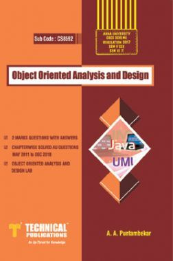 Object Oriented Analysis And Design For Anna University