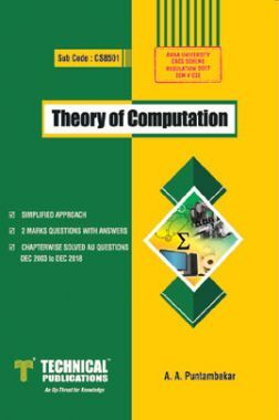 Theory Of Computation For Anna University