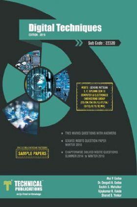 Digital Techniques For MSBTE