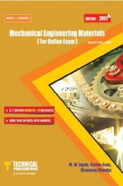Mechanical Engineering Materials For MSBTE