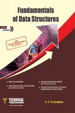 Download Fundamentals Of Data Structures For SPPU by A  A  Puntambekar PDF  Online
