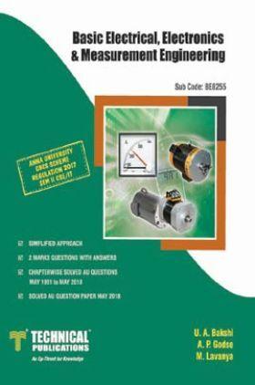 Basic Electrical, Electronics & Measurement Engineering For Anna University