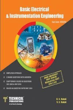 Basic Electrical & Instrumentation Engineering For Anna University