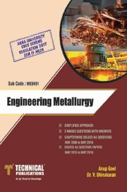 Engineering Metallurgy For Anna University