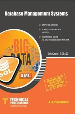 Database Management Systems For Anna University