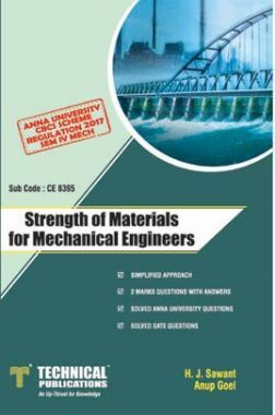 Strength Of Materials For Mechanical Engineers For Anna University