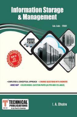 Information Storage & Management For Anna University